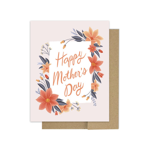 Floral Mother's Day - Greeting Card