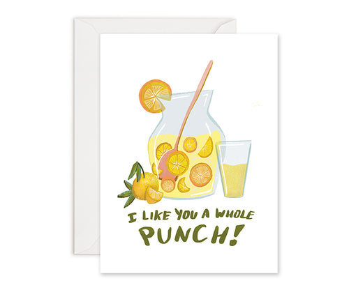 A Whole Punch - Greeting Card