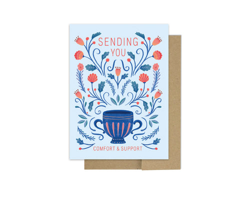 Soothing Comfort - Sympathy Card