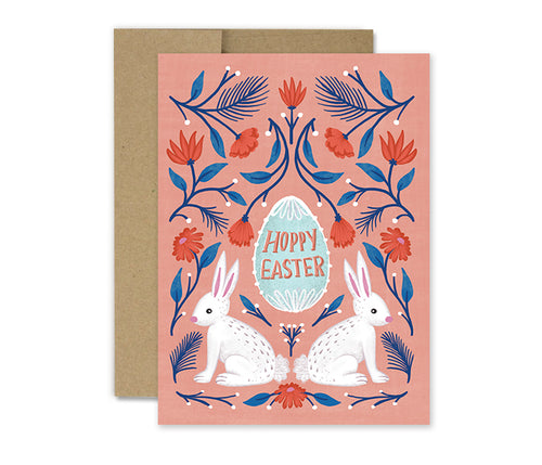 Hoppy Easter - Holiday Card