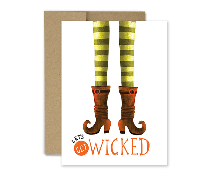 Wicked Halloween - Holiday Card