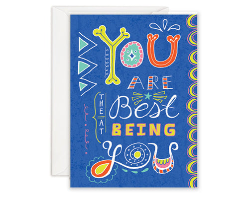 You're the Best - Greeting Card