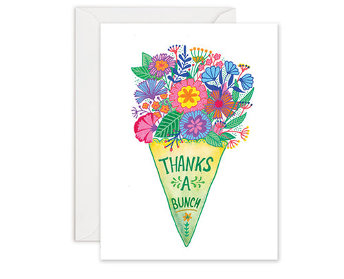 Thanks a Bunch - Thank You Card