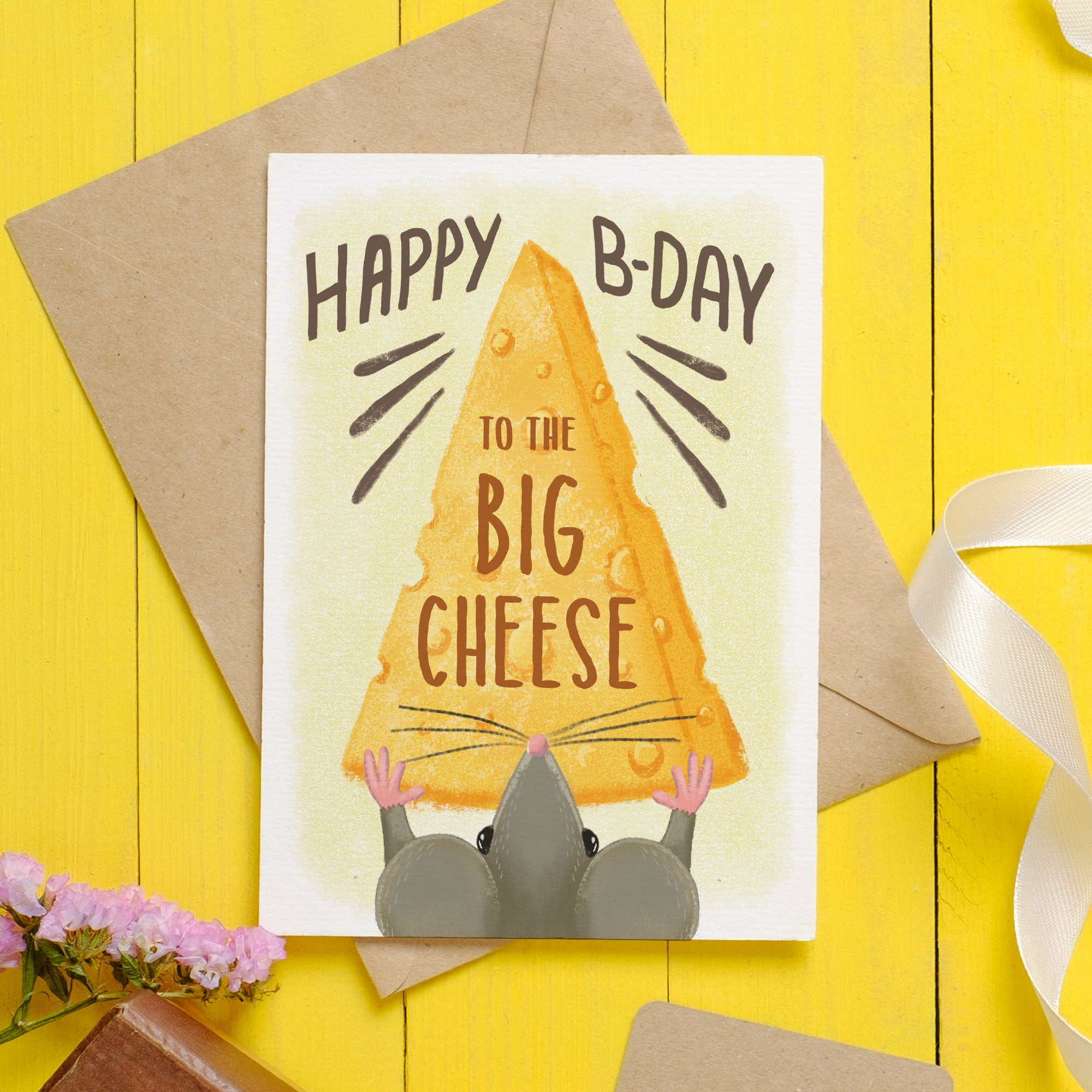 Big Cheese Birthday Card