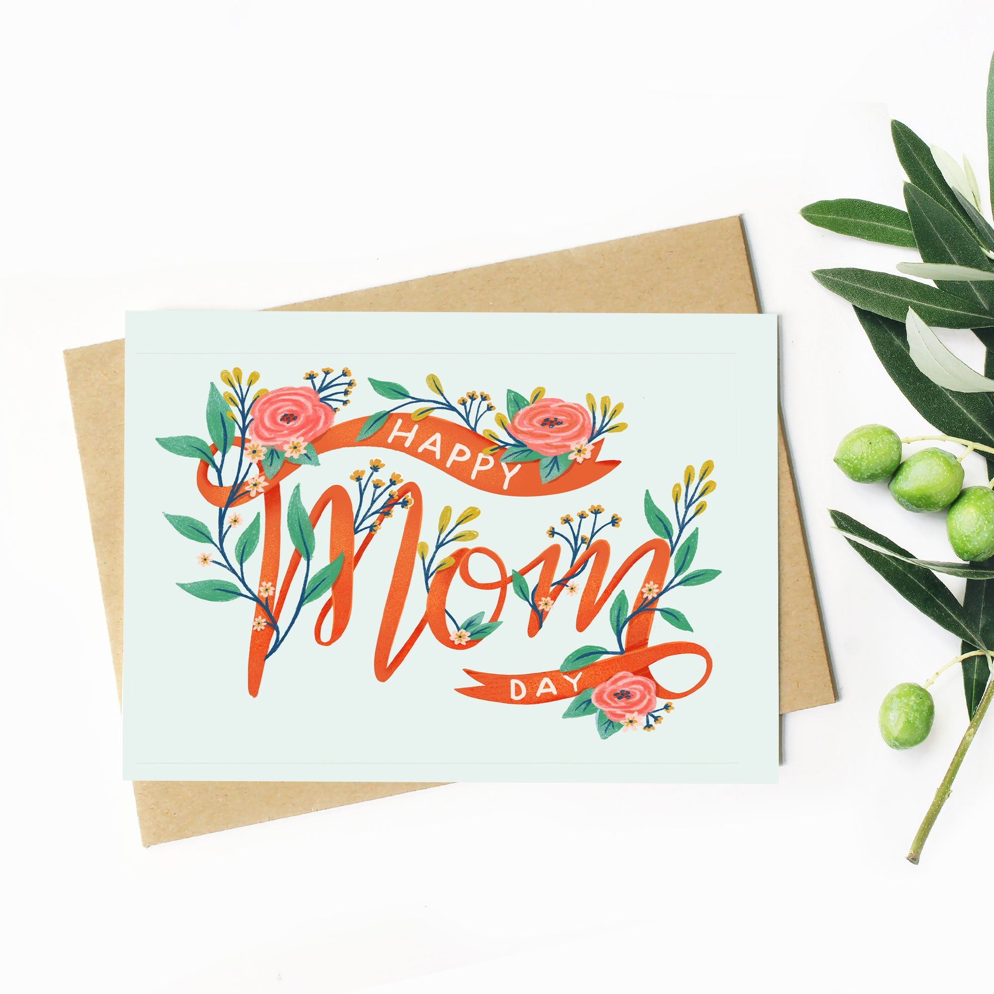 Happy Mom Day - Greeting Card
