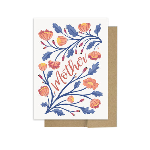 Floral Mother Dearest - Greeting Card