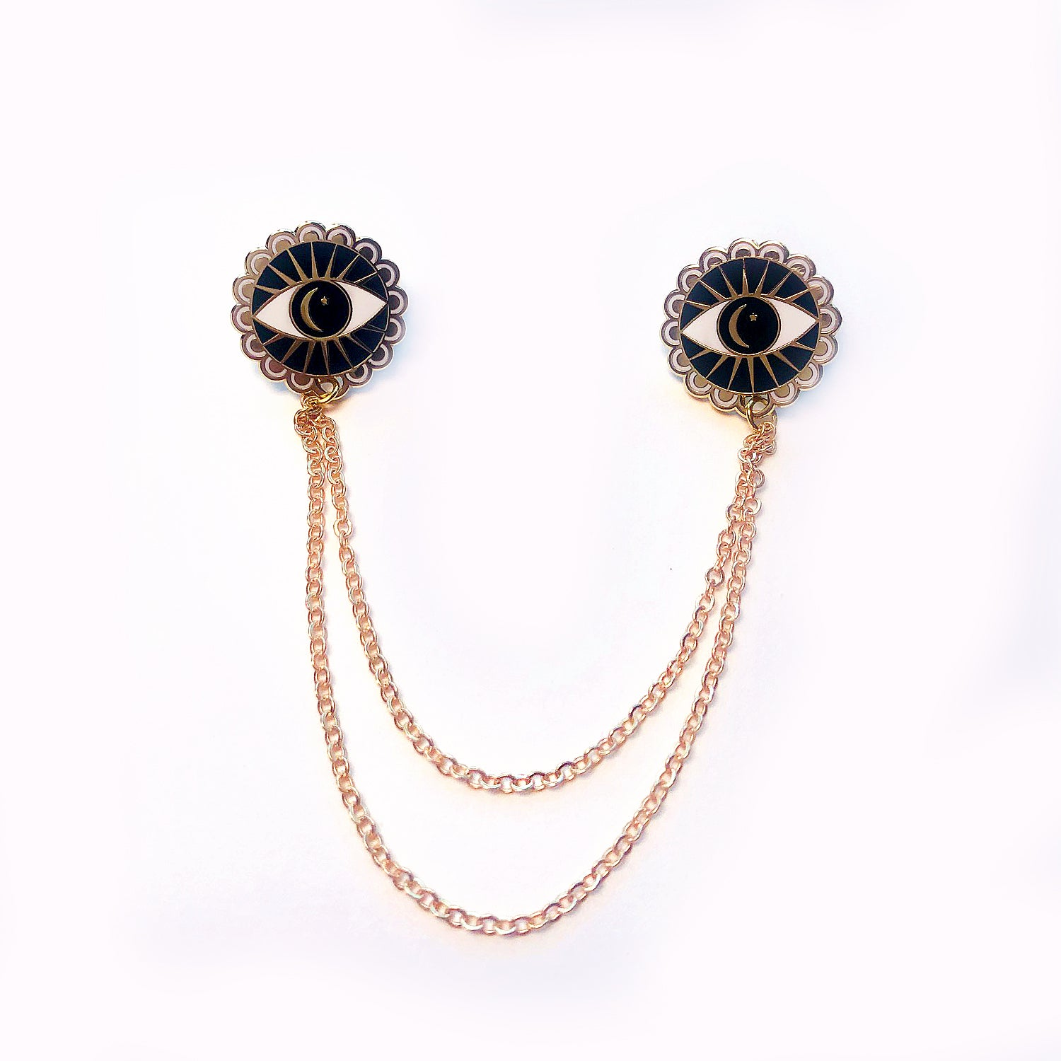 Cosmic Eyes - Collar Pins