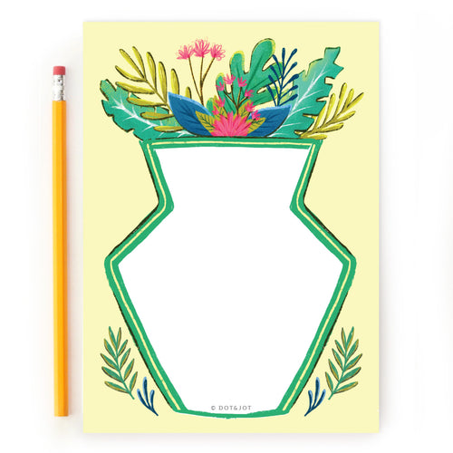 Tropical Plants - Notepad