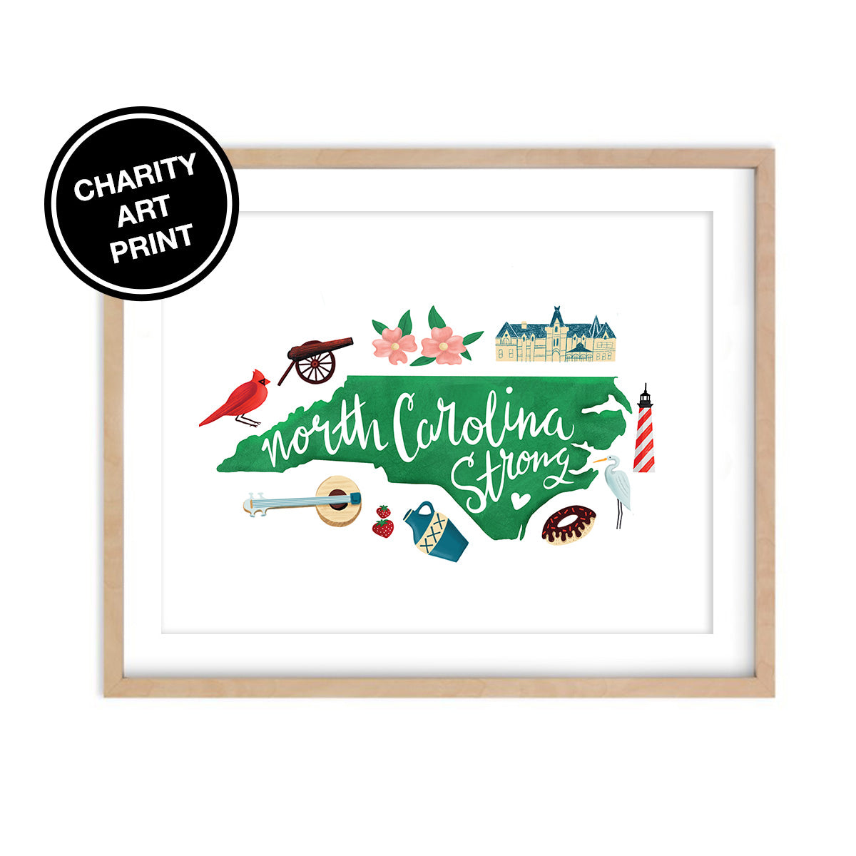 Hurricane Florence Relief - Charity Art Prints