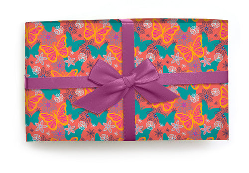 Butterflies Nectar- Wrapping Paper