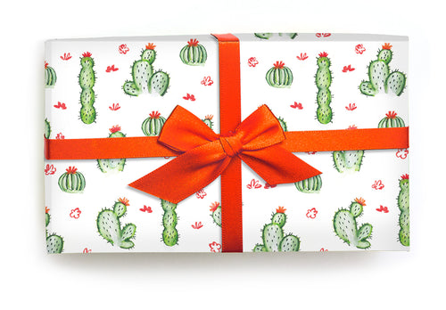 Cacti Fields - Wrapping Paper