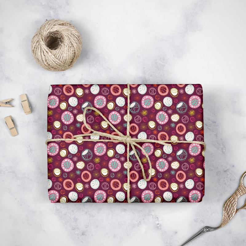 Modern Circles- Wrapping Paper