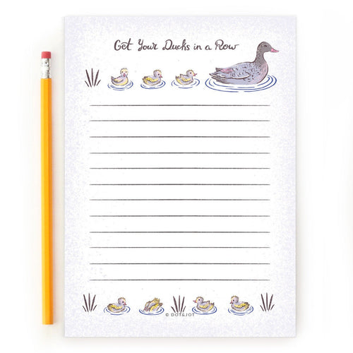 Ducks in a Row - Notepad