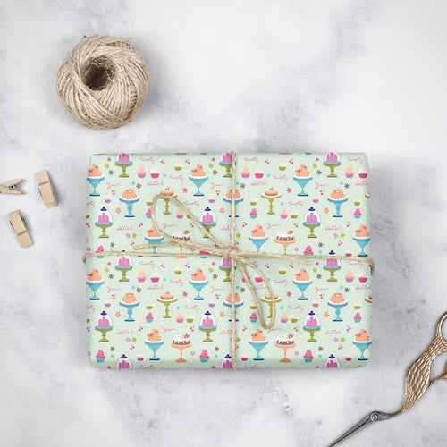 Tasty Treats- Wrapping Paper