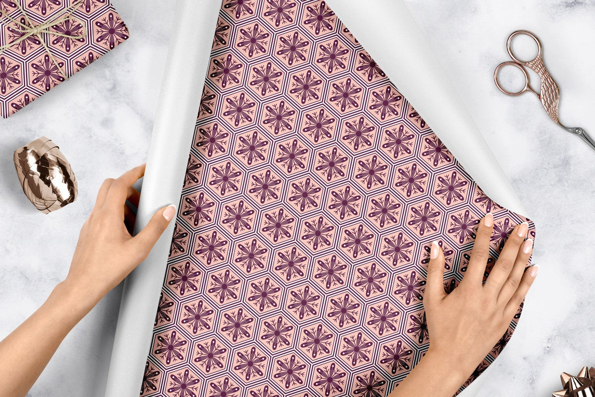 Snowflakes - Wrapping Paper