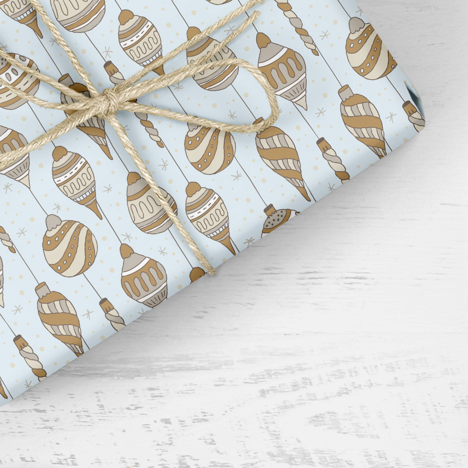 Christmas Ornaments- Wrapping Paper