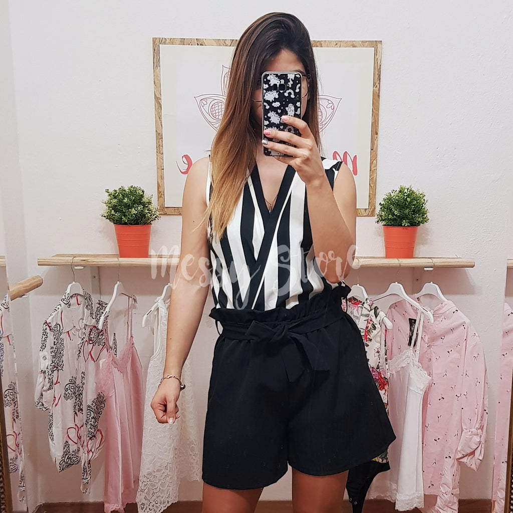 Body Sailor Preto - Messy Store