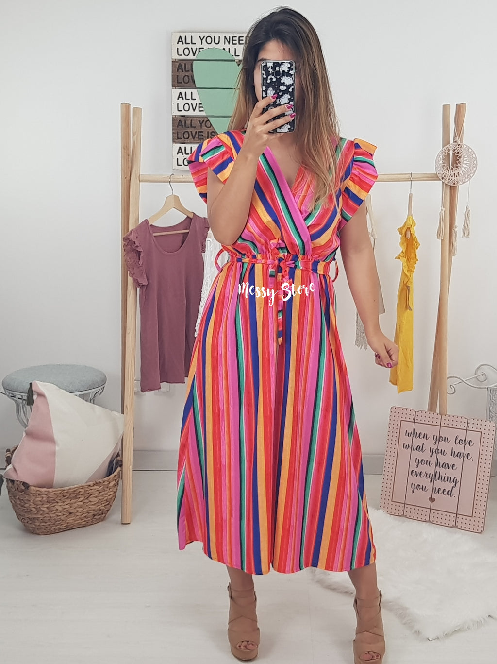 Vestido Mini Philippa - Messy Store