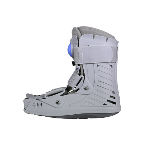 Left Side View of Inflatable Low Top Walker Boot