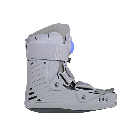 Right Side View of Inflatable Low Top Walker Boot