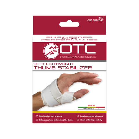 Front of SOFT THUMB STABILIZER packaging