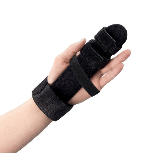 Rear of FINGER IMMOBILIZER HAND SPLINT