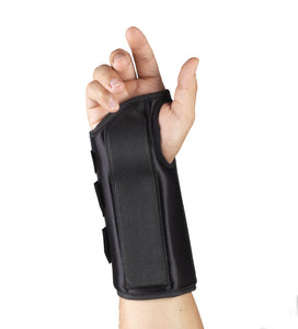 "Rear of 8"" WRIST SPLINT"