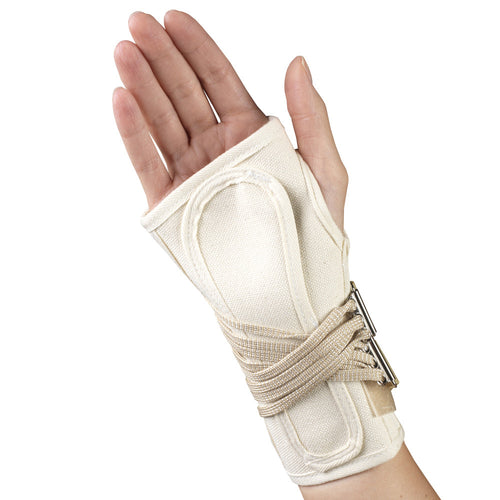Rear of COCK-UP WRIST SPLINT