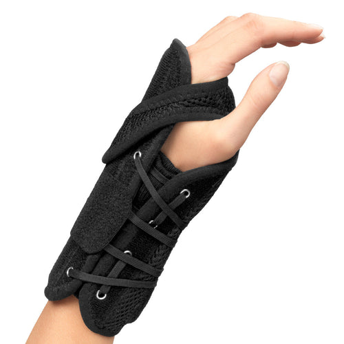 Exterior of WRIST BRACE WITH ADJUSTABLE THUMB STRAP
