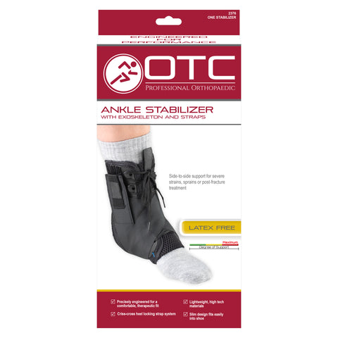 FRONT OF ANKLE STABILIZER - EXOSKELETON PACKAGING