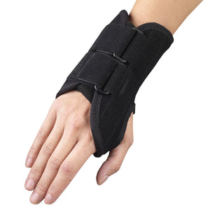 "Front of SELECT SERIES 6"" WRIST SPLINT"