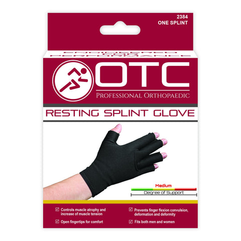 2384 Resting Splint Glove Packaging