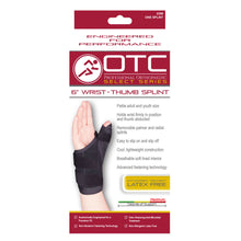 "2386 / SELECT SERIES 6"" WRIST-THUMB SPLINT / PACKAGING"
