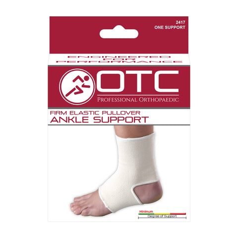 FRONT OF PULLOVER ELASTIC ANKLE SUPPORT PACKAGING