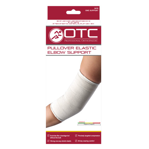 FRONT OF PULLOVER ELASTIC ELBOW SUPPORT PACKAGING