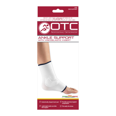 FRONT OF ANKLE SUPPORT - VISCOELASTIC INSERT PACKAGING
