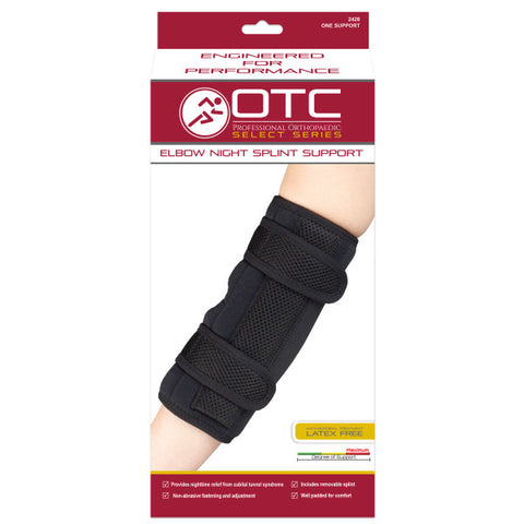 Front packaging ELBOW NIGHT SPLINT SUPPORT