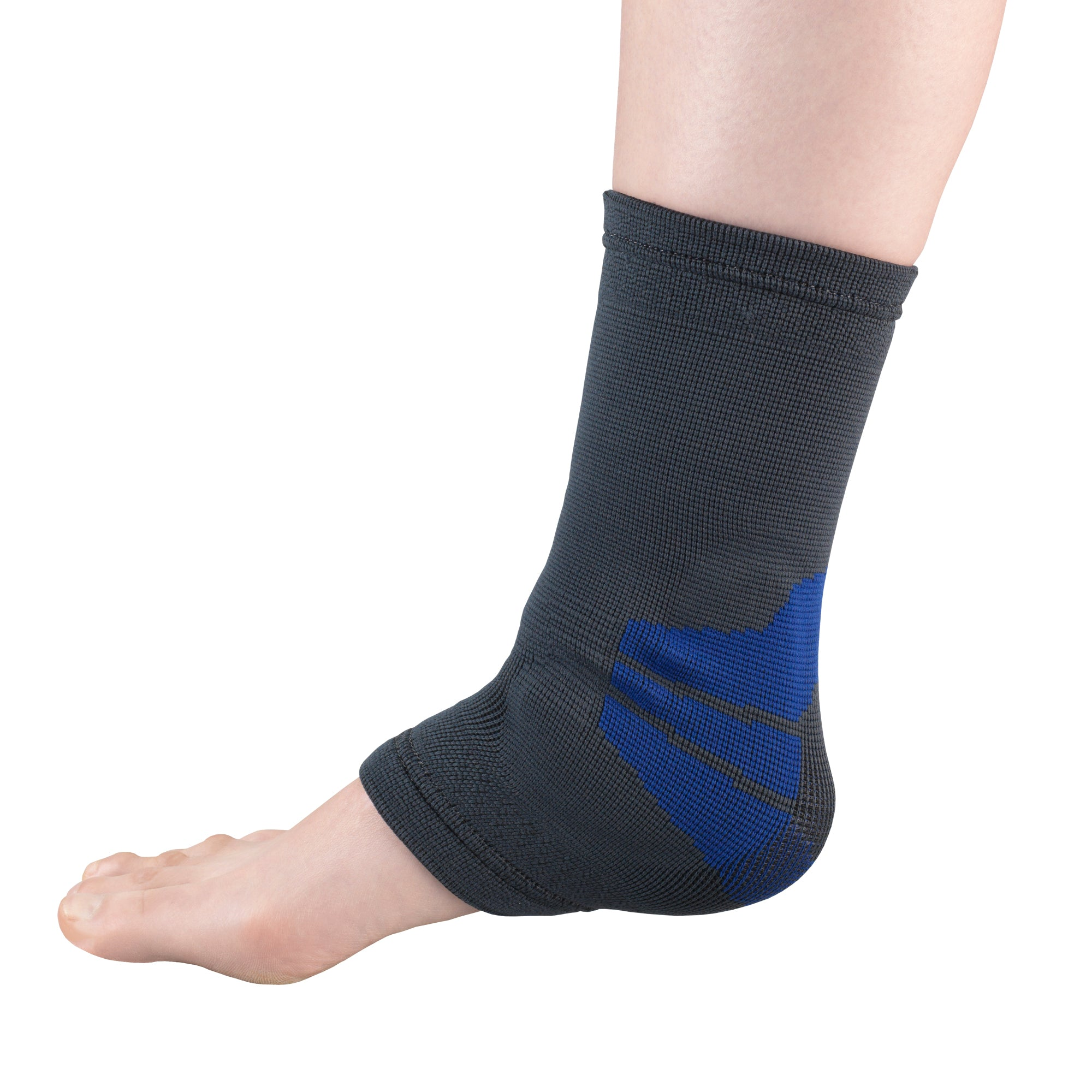 --Side of ANKLE SUPPORT WITH COMPRESSION GEL INSERT--