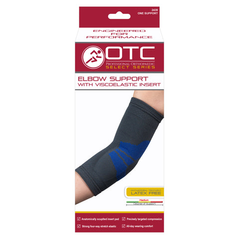 FRONT OF ELBOW SUPPORT WITH COMPRESSION GEL INSERT PACKAGING