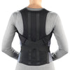 Rear of COMFORT POSTURE BRACE WITH RIGID STAYS
