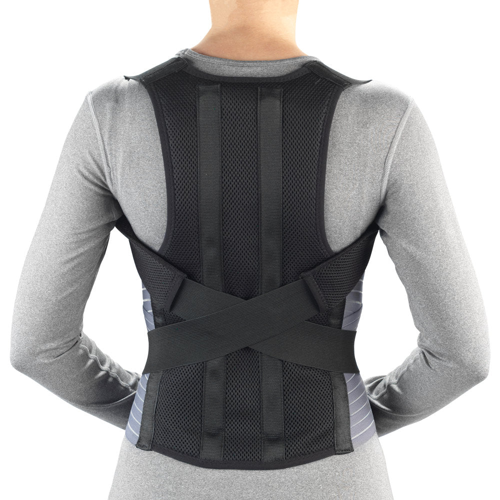 --Rear view of TECH-EZ POSTURE BRACE--