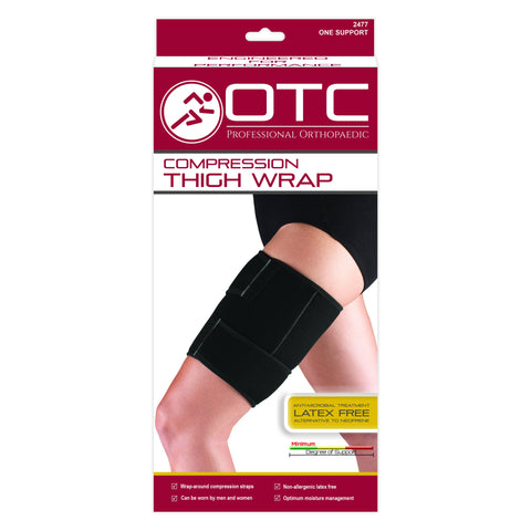 Compression Thigh Wrap Packaging Front