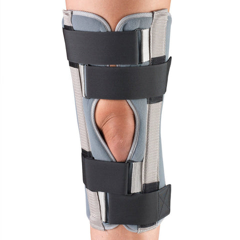 Front of THREE PANEL KNEE IMMOBILIZER