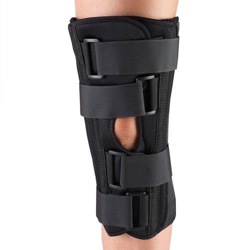 Front of THREE PANEL KNEE IMMOBILIZER - ECONOMY