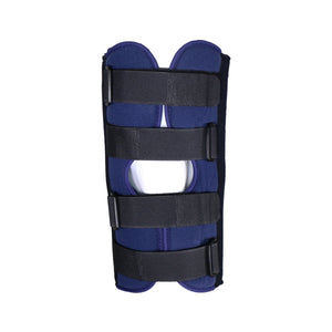"Front View of 12"" Knee Immobilizer"