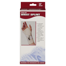 2362 / COCK-UP WRIST SPLINT / PACKAGING