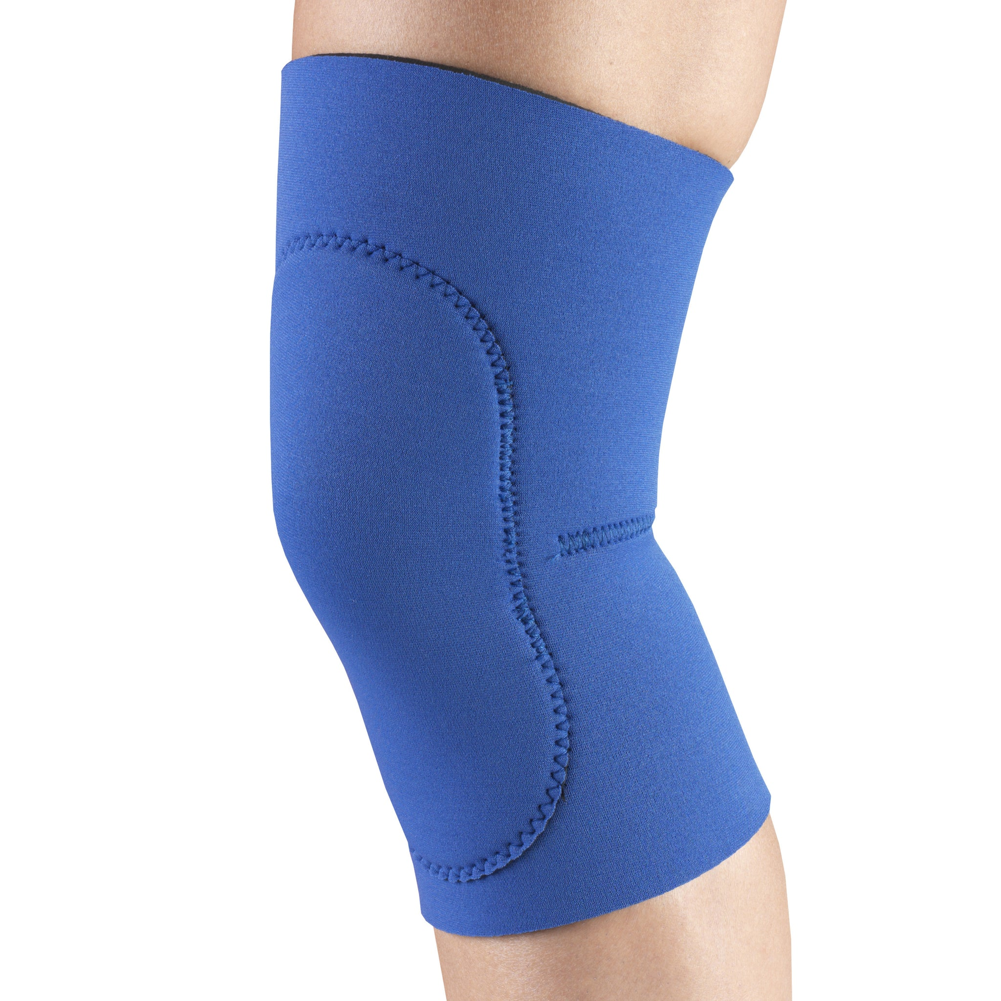 --Side of NEOPRENE KNEE SLEEVE - OVAL PAD--