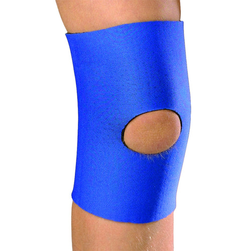Front of KIDSLINE KNEE SLEEVE - OPEN PATELLA blue