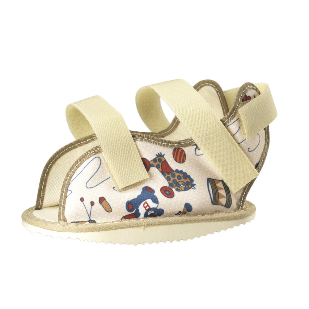 --Side of KIDSLINE CAST SHOE - PEDIATRIC PRINT--