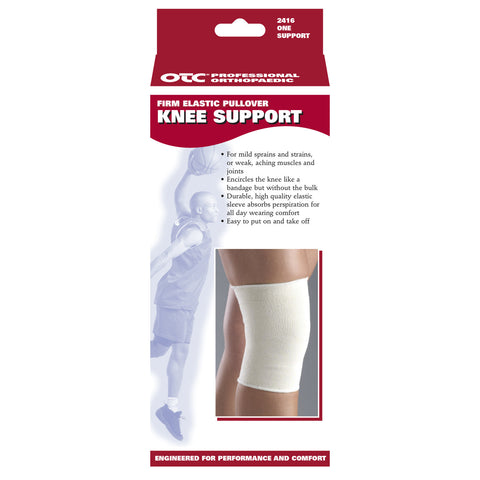 Front packaging of PULLOVER ELASTIC KNEE SUPPORT
